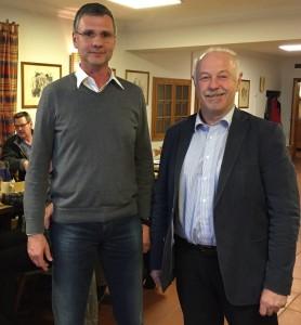 Benno Zierer begrüßte den Referenten Martin Hillebrand.